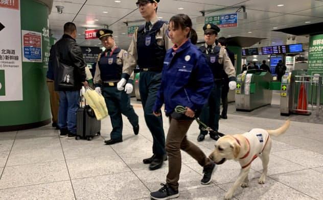 JR東・東海、新幹線客の手荷物検査 五輪機にテロ対策