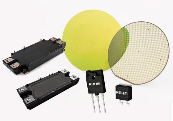 ロームは次世代材料「SiC」製の半導体に注力する
