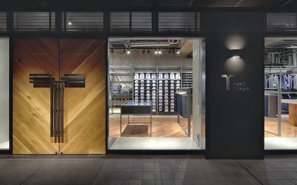 「Aoki Tokyo」は都内で3店舗を運営していた(中央区の店舗)