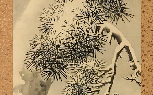 円山応挙「雪松図」(1788年、個人蔵)