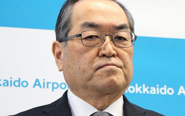 帯広市の田中敬二副市長は空港民営化の審査委員も務めた