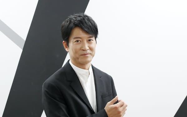 岸谷五朗さんと組む演劇ユニット「地球ゴージャス」は結成25周年(三浦秀行撮影)