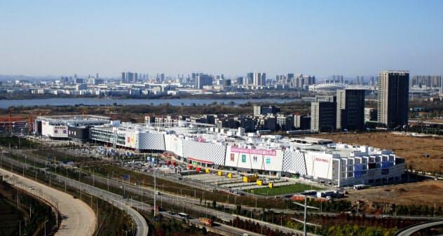 イオンは武漢市内にショッピングモール「イオンモール」を3つ展開している