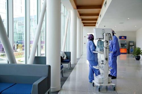 米国では医療費の負担が膨らんでいる(ジョージア州の病院)=ロイター