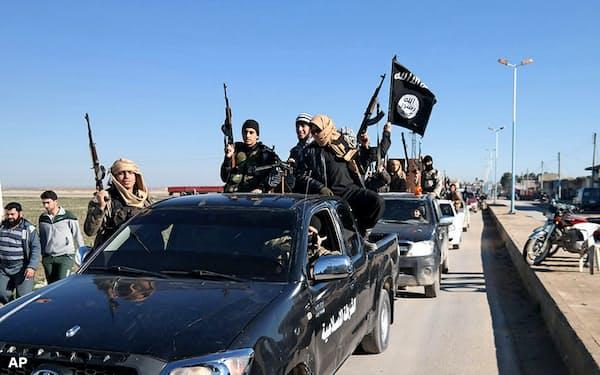 過激派組織「イスラム国」(IS)は27日、イスラエルを標的にすると警告した(2015年5月)=AP