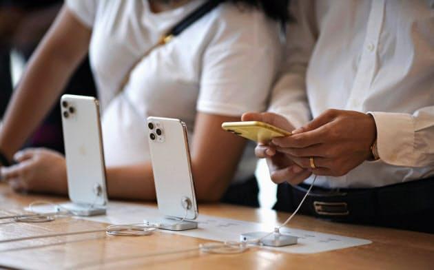 iPhone生産1~6月1割増 廉価版が押し上げ