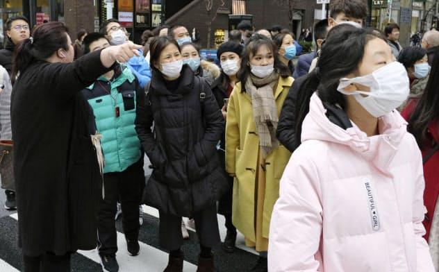 女性ガイドも新型肺炎 大阪で入院、感染運転手と同乗