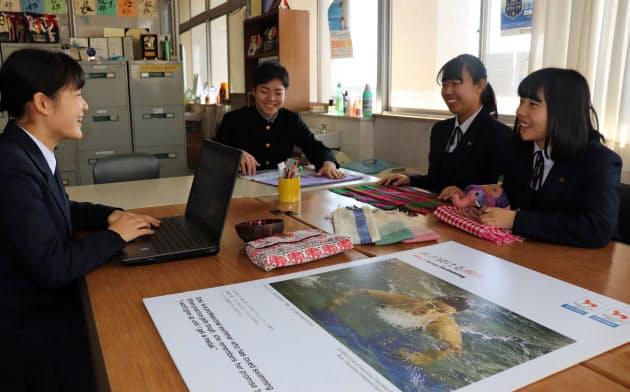 徳島商業高校の生徒はカンボジアとの国際交流の架け橋となってきた(徳島市)