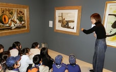 関西経済同友会が美術展で実践「70センチの教育」