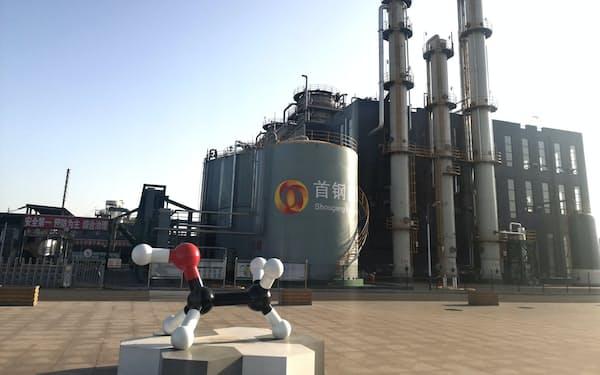 ランザテックの技術を導入した中国・河北省の製鉄所の設備=ランザテック(C)