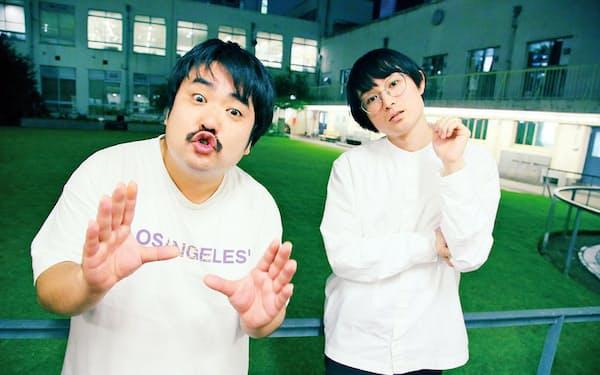 空気階段 左/鈴木もぐら、1987年5月13日生まれ、千葉県出身。右/水川かたまり、90年7月22日生まれ、岡山県出身。2019年11月には「時効警察はじめました」(テレ朝系)に伝説の芸人役でそろって出演した。吉本興業所属
