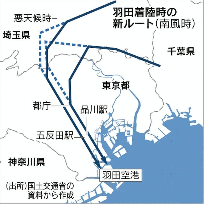 羽田 空港 新 ルート