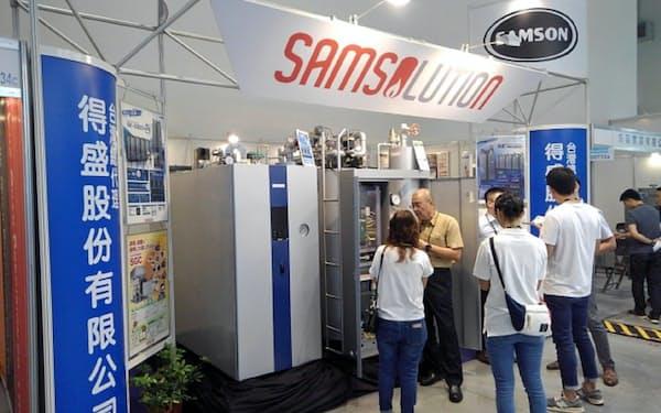 台湾の食品会社向けに、ボイラーの展示会を開催した(2019年6月、台湾)