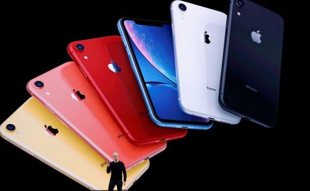 米アップルの新型iPhone。富裕層ではハッキング被害が心配される=ロイター