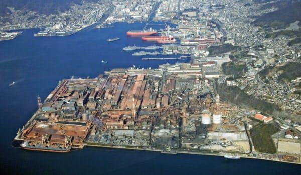呉製鉄所(広島県呉市)は23年9月末をめどに閉鎖する