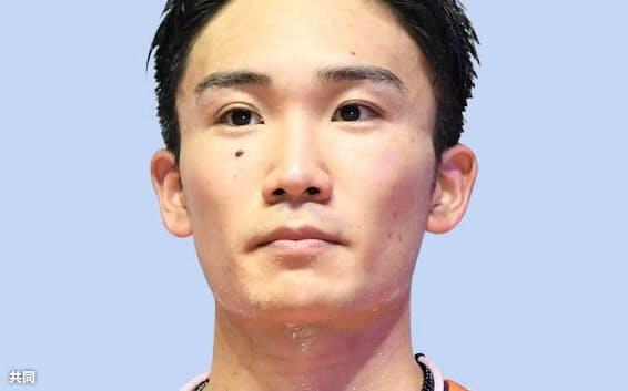 桃田賢斗選手=共同
