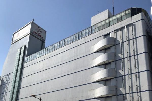 橘百貨店は宮崎市の中心市街地で「ボンベルタ橘」を運営している