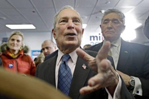 富豪のブルームバーグ氏は自ら富裕層増税を提案した