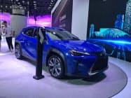 昨年の広州モーターショーでトヨタの高級ブランド「レクサス」が発表した初のEV