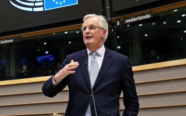 対英交渉を取り仕切るEUのバルニエ首席交渉官=ロイター