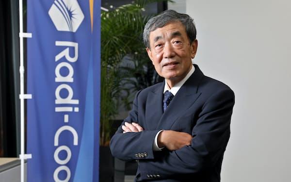 ラディクールジャパンの会長兼CEOになった松本晃氏