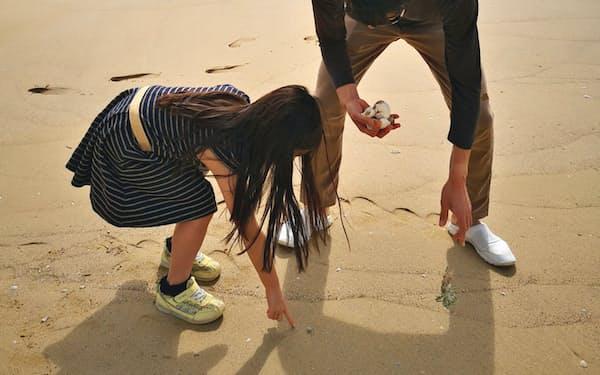 小1の娘にとっては初めての沖縄だった