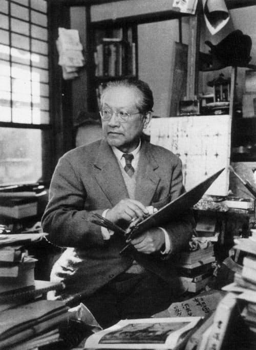 洋画家として遅咲きだった父の須田国太郎(須田寛氏提供)