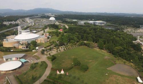スタジオジブリのテーマパークが造られる愛・地球博記念公園(愛知県長久手市)