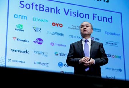 ソフトバンクグループの一部の投資先は不調に陥っている(18年、東京)=ロイター