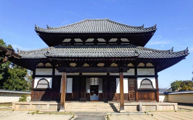 東大寺戒壇堂(4日、奈良市)=共同
