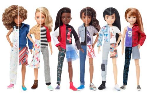 米玩具大手マテルは「ジェンダーニュートラル」をテーマにした「クリエータブルワールド」ブランドを投入した
