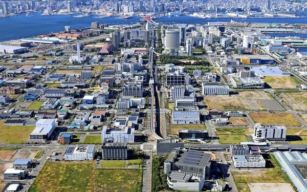神戸市の神戸医療産業都市