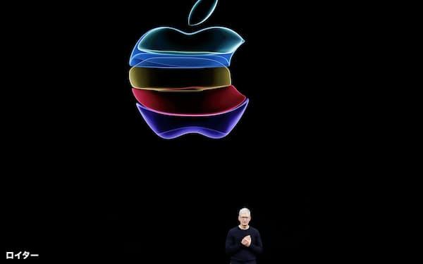 アップルは19年に8兆円以上の自社株買いを実施した=ロイター
