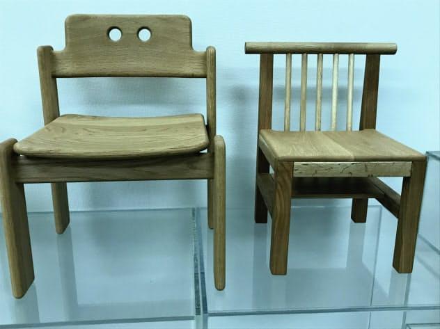 「君の椅子」プロジェクトに参加した厚真町が乳幼児に贈る椅子