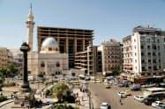 シリアの首都ダマスカス=ロイター
