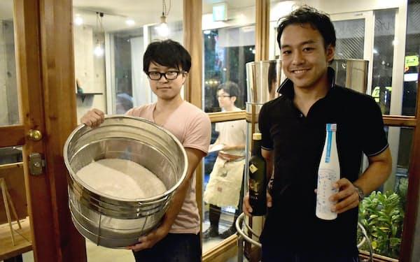 WAKAZEは東京で「どぶろく」を造るが、日本酒は規制が壁に