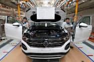 VWは天津工場などの操業再開を17日に再延期した=ロイター