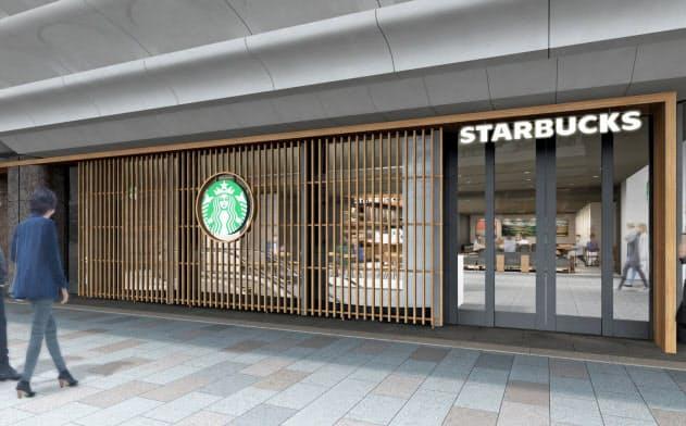 四条通の一等地に位置する本店の1階をスターバックスに賃貸する(画像はイメージ)