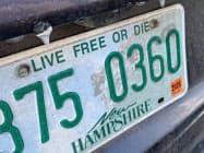 ニューハンプシャーのモットーは「自由か死か」だ