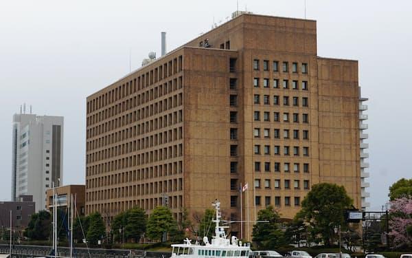 徳島県は14年ぶりに一般会計の当初予算案が5000億円を超えた(徳島県庁)