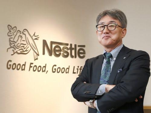 3月末で退任するネスレ日本の高岡社長
