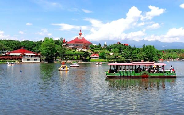 那須りんどう湖レイクビューは湖や牧場のある観光施設として人気を集めてきた(栃木県那須町)