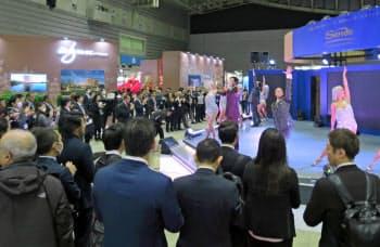 事業者は展示会でカジノに言及せず、IRの議論が深まっていない(1月、横浜市)