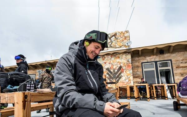ITでスキー場利用客の利便性を高めることにもつなげる