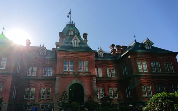 北海道庁の赤れんが庁舎