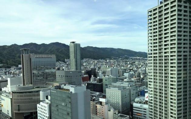神戸市の中心市街地