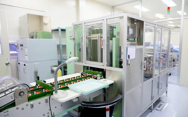 ゾンネボード製薬は薬の形状を加工する技術が強み(東京都八王子市)