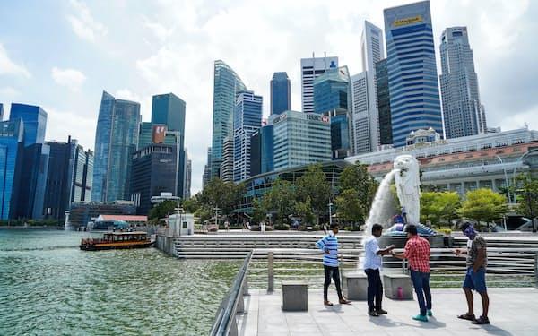 新型コロナウイルスの感染拡大で、シンガポールの成長率は落ち込みが不可避に