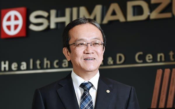 島津製作所社長 上田輝久氏