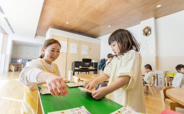 ヒューマンスターチャイルドが現在運営する一時預かりができる保育所は住宅街が多い(横浜市内)